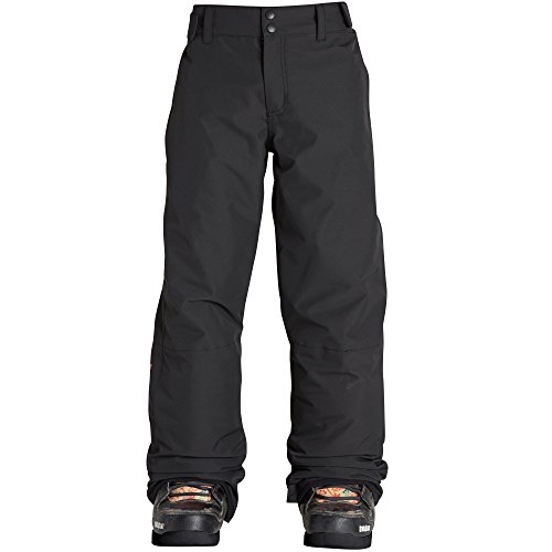 Billabong Grom Youth Boys Snowmobile Pants - Black/Small