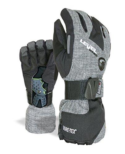 Level Herren Half Pipe Gore-Tex Handschuhe, Anthracite, 9