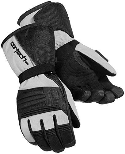 Cortech Journey 2.1 Herren Snowboard-Handschuhe für Schneemobil, Silber/Schwarz/Größe M