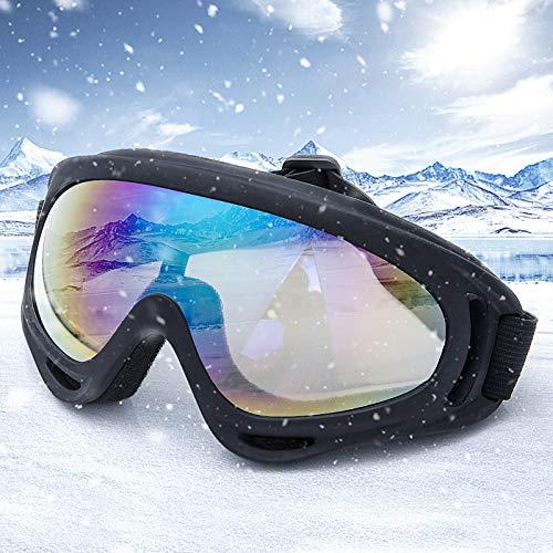 Comius Sharp Skibrille Unisex Schneebrille Winddicht 100% UV-Schutz Skifahren Snowboard Brille Radfahren Motorrad Schneemobil-Skibrille Outdoor Sport Skibrille