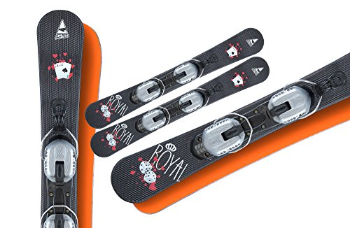 Snowblades Gamble 85cm+ Bindung und Fangriemen
