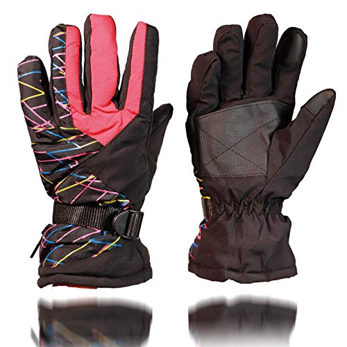 Skihandschuhe, atmungsaktiv, Snowboard-Handschuhe, warme Winter-Handschuhe, Snowboard, Schneemobil, kaltes Wetter, Handschuhe für Damen und Herren
