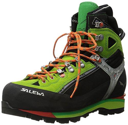 Salewa Herren MS Condor Evo Gore-TEX Trekking-& Wanderstiefel, Black/Cactus, 43 EU