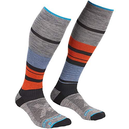 ORTOVOX Herren All Mountain Long Socks M, Mehrfarbig, 39-41