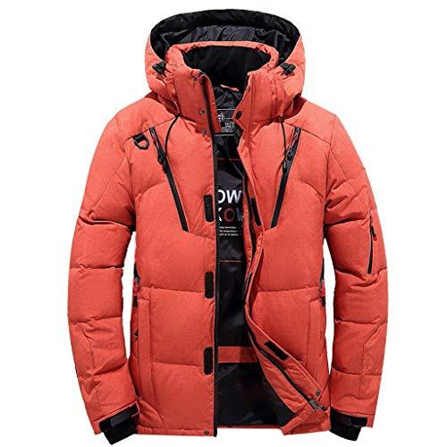 Kobilee Winterjacke Herren Lang Parka Winter Warm mit Kapuze Outdoor Lang Wintermantel Steppjacke