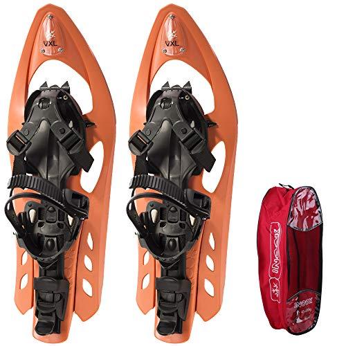 Inook Schneeschuhe Allround VXL mit Steighilfe und Ratschenbindung, Schuhgröße EU 34-43 (UVP: 149,95€!)