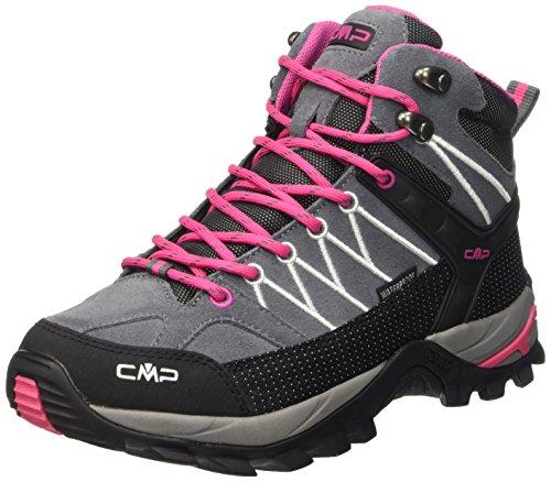 CMP Damen Rigel 3Q12946, Trekking- & Wanderhalbschuhe, Grau (Grey-Fuxia-Ice 103Q), 38 EU