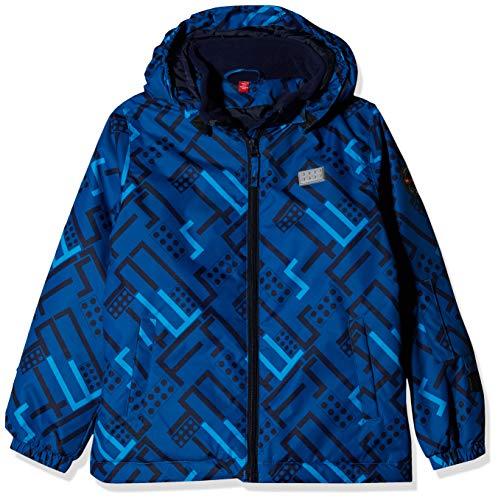 Lego Wear Jungen Lego Tec Basic LWJORDAN 700-Skijacke/Winterjacke Jacke, Blau (Blue 553), (Herstellergröße:122)