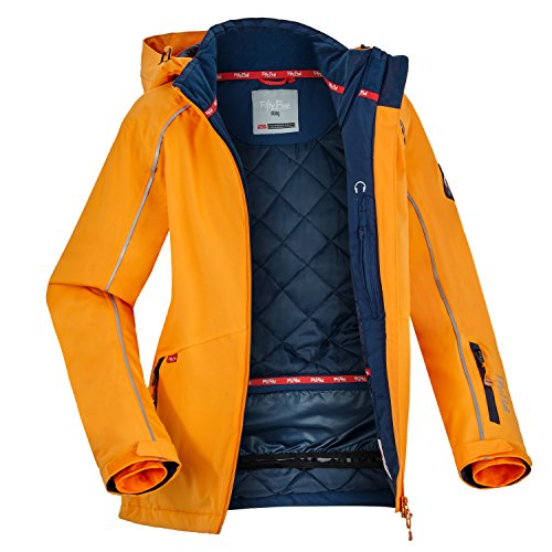 Fifty Five Damen Skijacke Snowboardjacke Saint Marys, Orange (Orange 007), 38