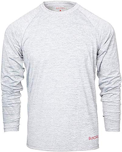 Sundried Mens Base Layer Winterthermal Fitness Top Jogging Skifahren Wandern Kaltes Wetter Kleidung (Gray, X-Large)