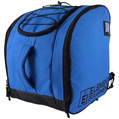 Element Equipment Boot Bag Deluxe Snowboard Ski Rucksack, Solid Blue/Black