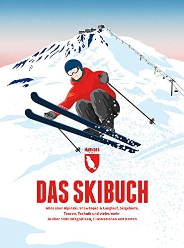 Das Skibuch: Alles über Alpinski, Snowboard & Langlauf, Skigebiete, Touren, Technik und vieles mehr in über 1000 Infografiken, Illustrationen und Karten
