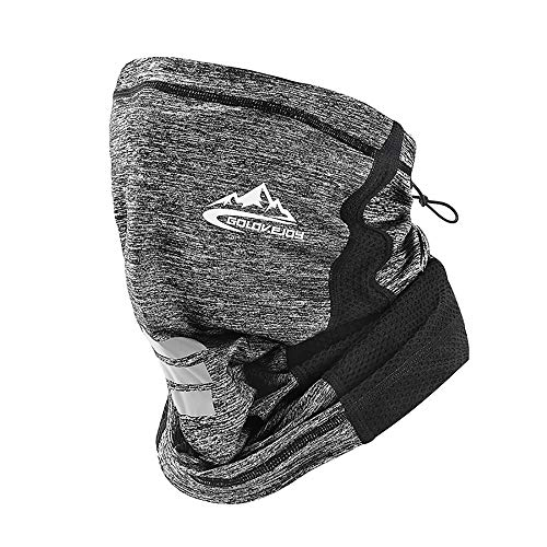 UV STYLISH Multifunktionstuch Schlauchschal Halstuch Bandana Mundschutz Für Herren Damen Atmungsaktiv Gesichtsmaske Schal Motorrad Tuch Maske Laufen Wandern……
