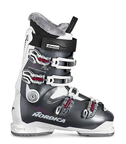 Nordica Damen Skischuhe Sportmachine 75 X W schwarz/Weiss (910) 25