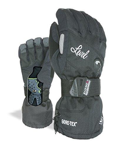 Level Damen Half Pipe Gore-Tex Handschuhe, Black, 7