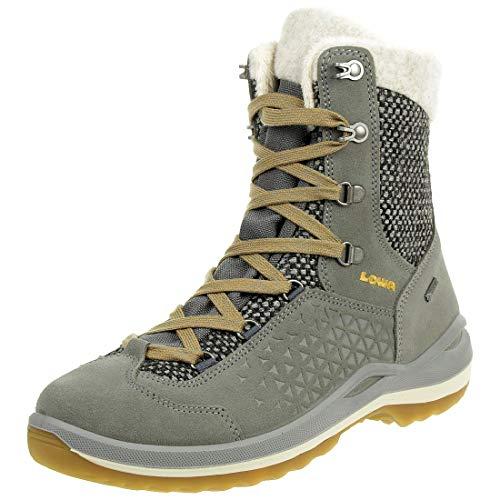 Lowa Calceta II GTX Ws Damen Wanderstiefel Tracking Outdoor Goretex Grau, Schuhgröße:41 EU