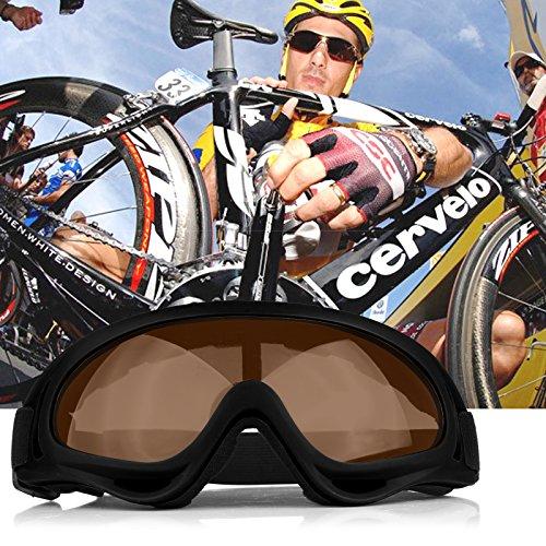 ONEVER UV400 Winddichte Schneemobil-Brille X400 staubdichte Brille Motocross Off-Road Brille